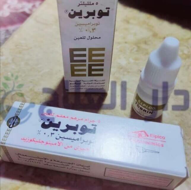 قطرة توبرين - توبرين - مرهم توبرين - قطرة توبرين للعين - دواء توبرين - علاج توبرين - قطرة tobrin - tobrin